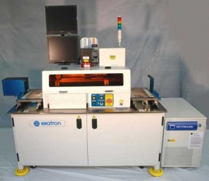 CAPACITORS1 Strip magazine input/output tables | Fully enclosed | Handler control | Dual monitors