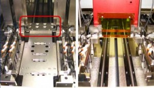 LIGHT8000-53 In-tray laser marking (with laser tray at back of carriage)