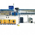 Model 7000 Rotary LED Test Handler with Tray Input, Laser Marking, and Tube Output
