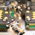 Model 901 Smart Queue Program Sockets with Pneumatic Precisors