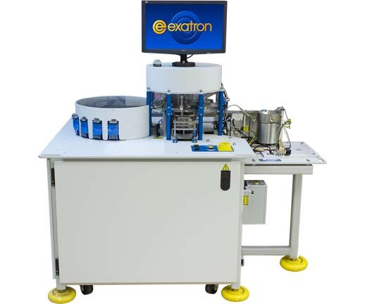 Model 7000 Rotary Test Handler with Bowl Input and 8 Output Bins
