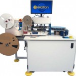 Model 7000-BPR Rotary Test Handler with Bowl Input and Tape Output